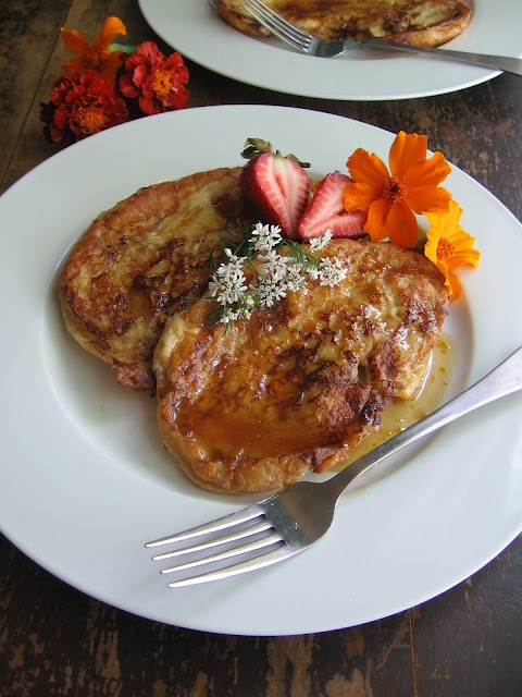 Croissant French Toast | Food for thought | Pinterest