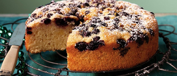 Orange and blueberry tea cake | A Piece of cake | Pinterest