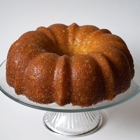 Orange Poppy Seed cake is delightful! Yum.