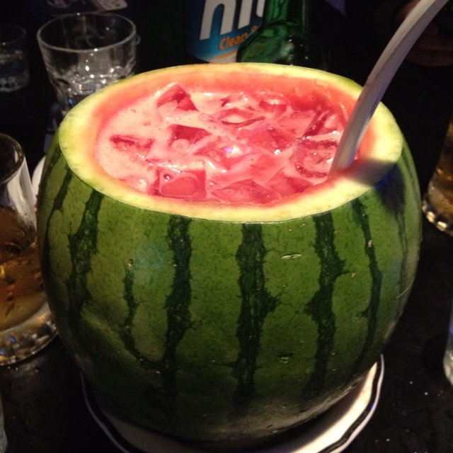 Watermelon soju | Food and Drink | Pinterest