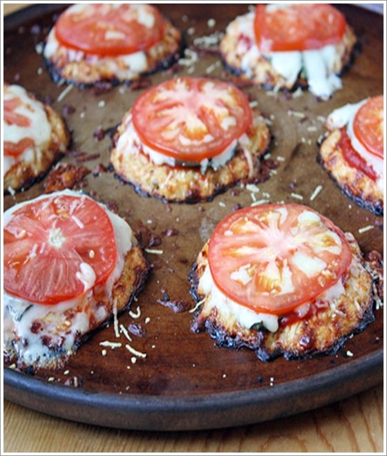Mini Cauliflower Pizza Crusts | Lidia's Secret Recipes