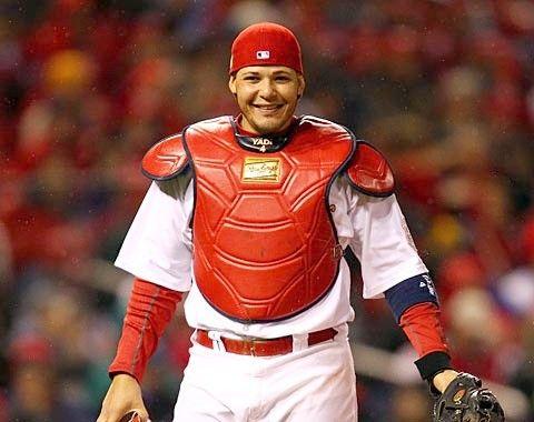 yadier molina batting  Yadier Molina