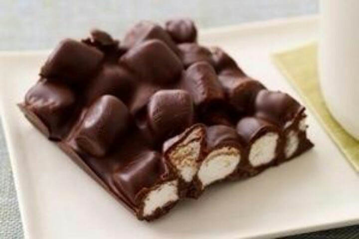 Smores Bark | ALL RECIPES | Pinterest