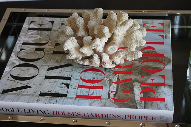 Coral And Vogue Coffee Table Book Coffee Table Books Pinterest