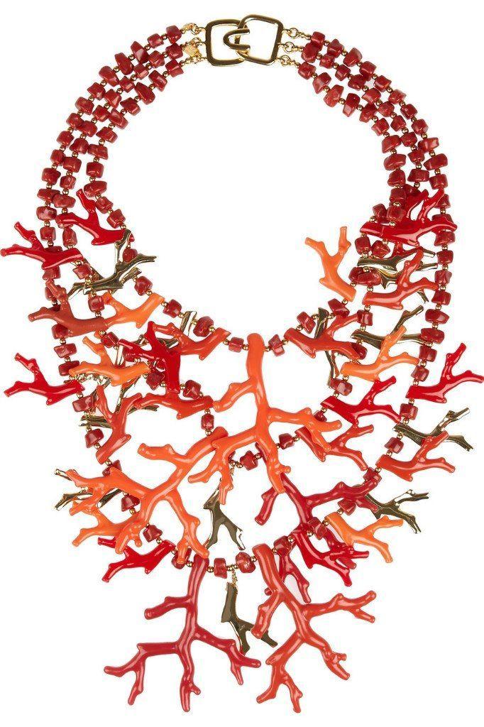 Коралловое ожерелье