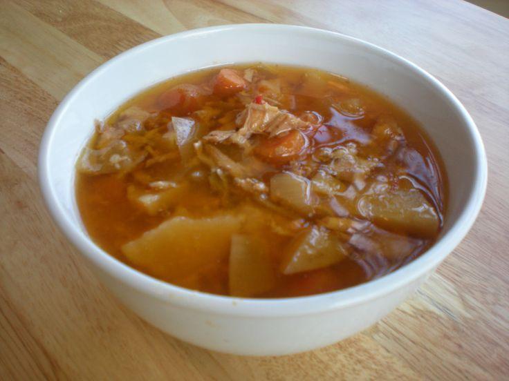 leftover turkey thai red curry soup | souper douper! | Pinterest
