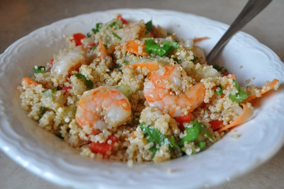 Vietnamese shrimp & quinoa salad | Recipe Box | Pinterest
