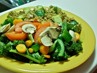 Quinoa Stir Fry with Peanut Butter | Yummy in my Tummy | Pinterest