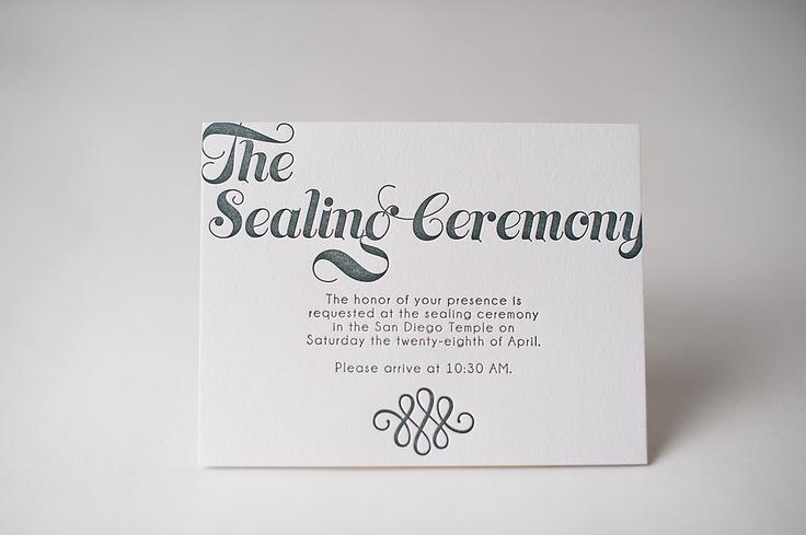 real wedding liel and william lds wedding invitations