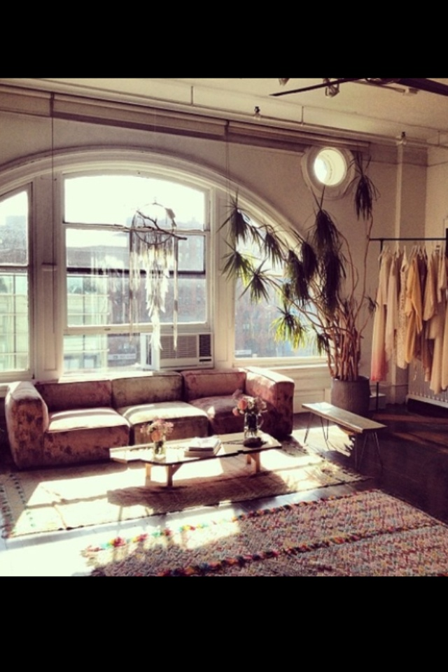 New york style apartment room house decor pinterest for New york style curtains