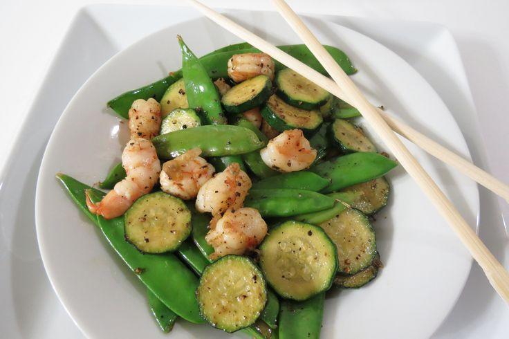 Shiitake, Shrimp, And Snow Pea Stir-Fry Recipes — Dishmaps