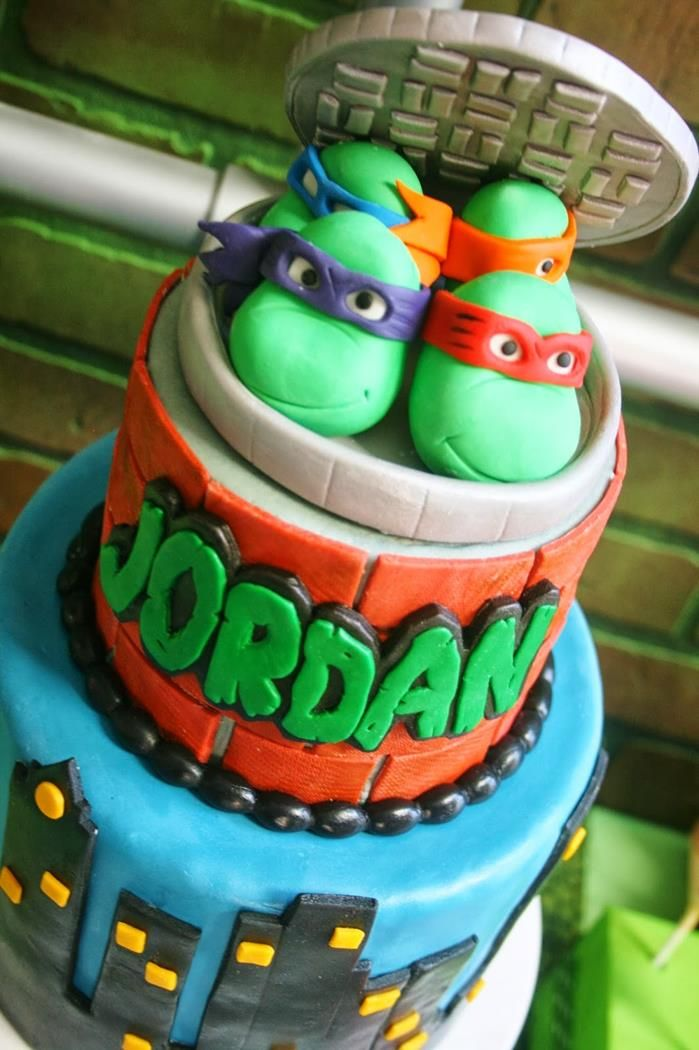 Ninja Turtles Party with Lots of Really Cool Ideas via Karas Party ...