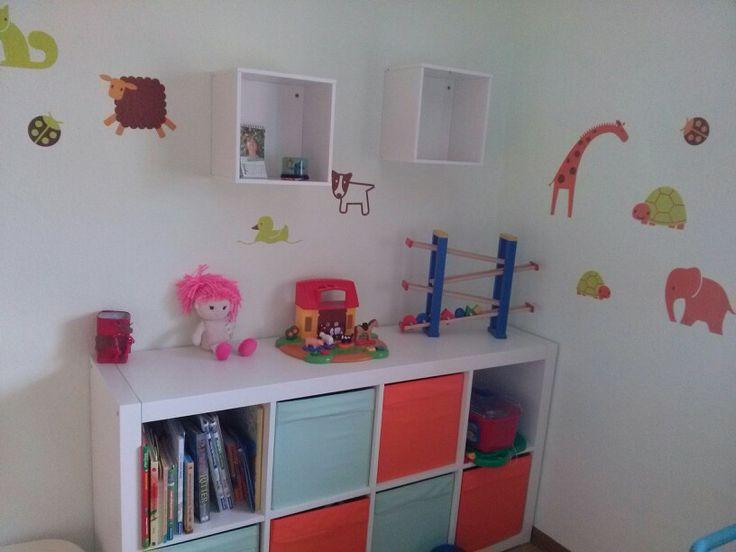 Kinderzimmer, Ikea, Expedit, Froehoeja  Kinderzimmer ...