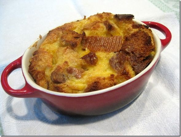 panettone bread pudding | recipes | Pinterest