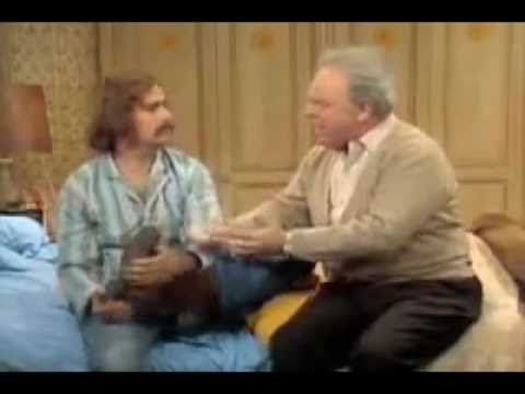 Archie Bunker - A Sock And A Sock And A Shoe And A Shoe!!