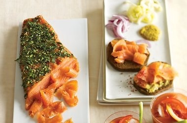 Gravlax with Sweet Mustard Sauce Recipes | recipes | Pinterest