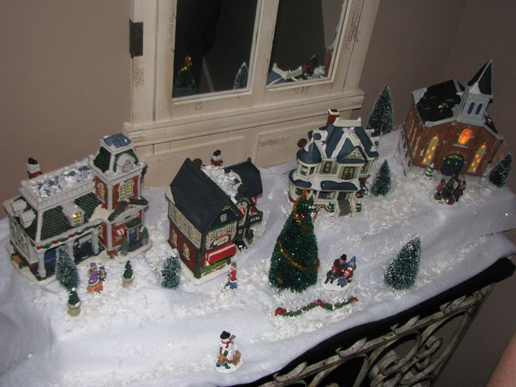 Home Design Image Ideas Ideas On How To Set Up A Christmas Village