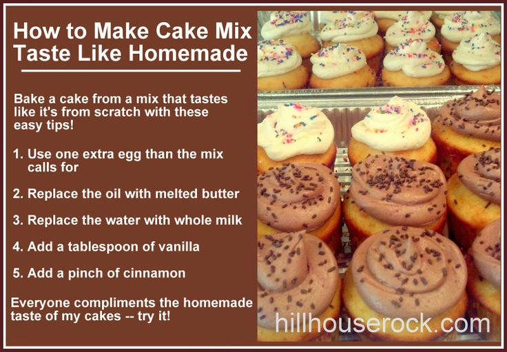How To Make Your Own Yellow Cake Mix From Scratch