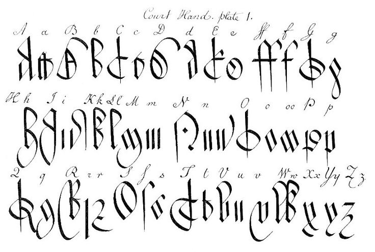 Fancy Calligraphy Letters A-z Images & Pictures - Becuo