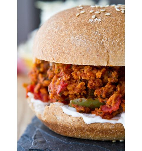 Vegan Sloppy Joes | Vegan | Pinterest