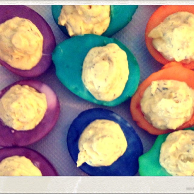 Deviled Easter eggs | Recipes I Might Make | Pinterest