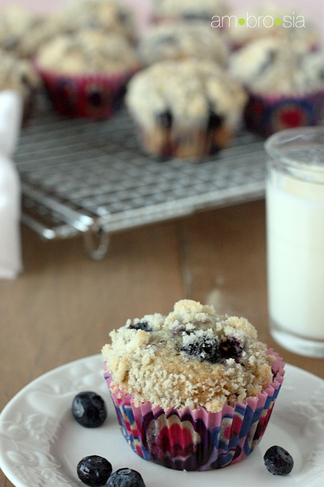 Browned Butter Blueberry Crumb Muffins--- Super excited to try this ...