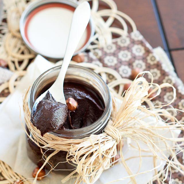 Healthy Chocolate Hazelnut Spread aka Nutella | Another creation by ...