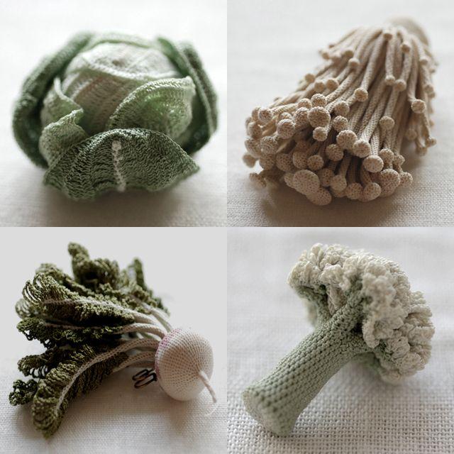Knitting Patterns For Vegetables : amazing crochet Crochet - knit Pinterest