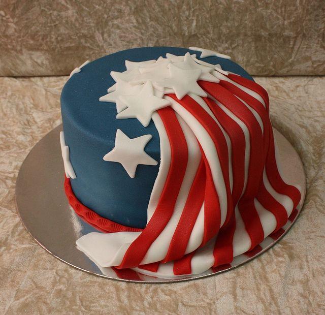 Us Flag Cake | American Flag/patriotic Americana | Pinterest