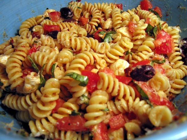 sun-dried tomato pasta salad | r e c i p e s | Pinterest