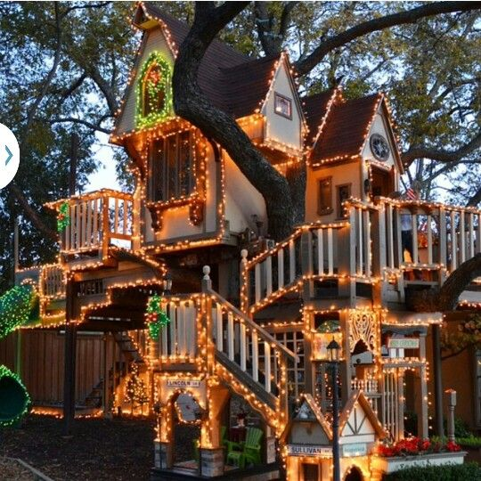 Cool Tree House Kids Play Pinterest
