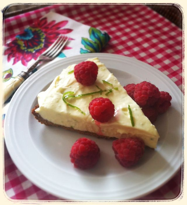 Lime Ice-Cream in a Ginger Snap Crust   Tarts and Pies   Pinterest