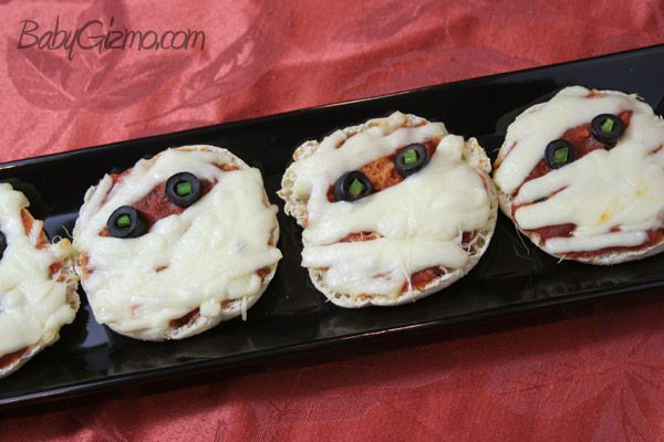 Pizza Mummies | for amy | Pinterest