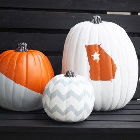 No-Carve Painted Pumpkins