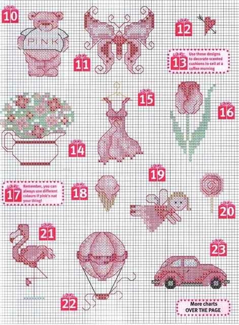 SCHEMI PUNTO CROCE  Crafts  Pinterest