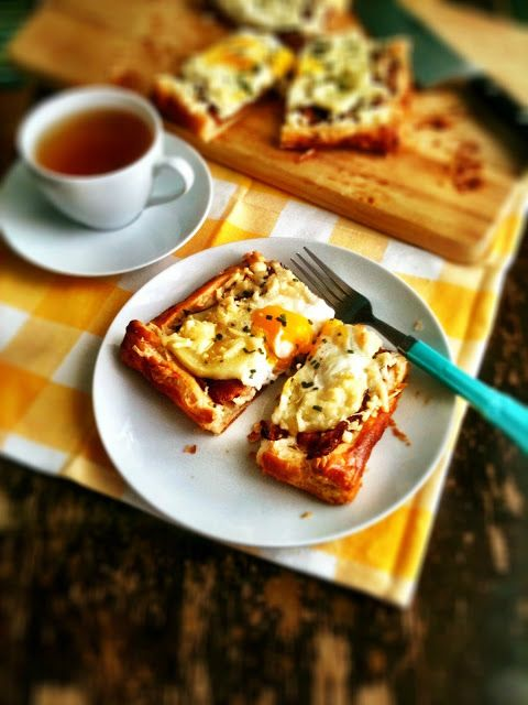Bacon & Egg Breakfast Tart | Breakfast..most important meal of the da ...