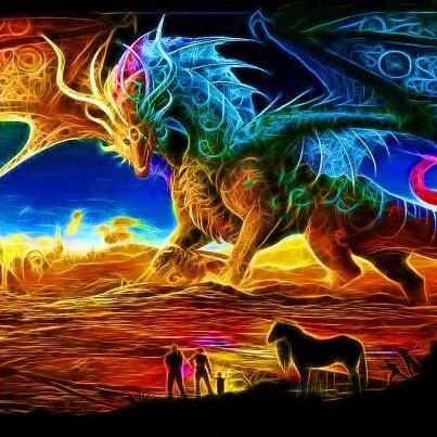 rainbow dragon | When ...