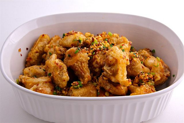 how to cook salt and pepper chicken wings