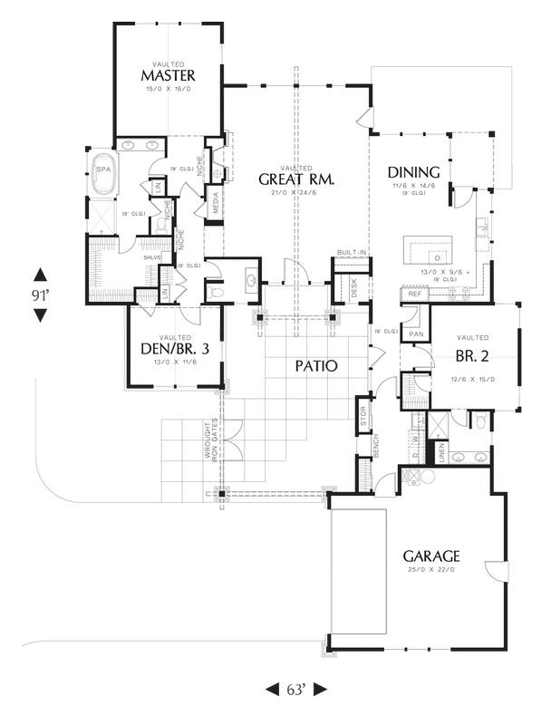 Mascord House Plan 1237
