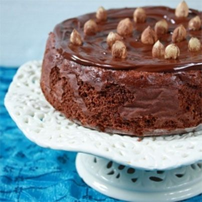 Flourless Chocolate-Hazelnut Cake | Healthy Recipes For Sweets That S ...