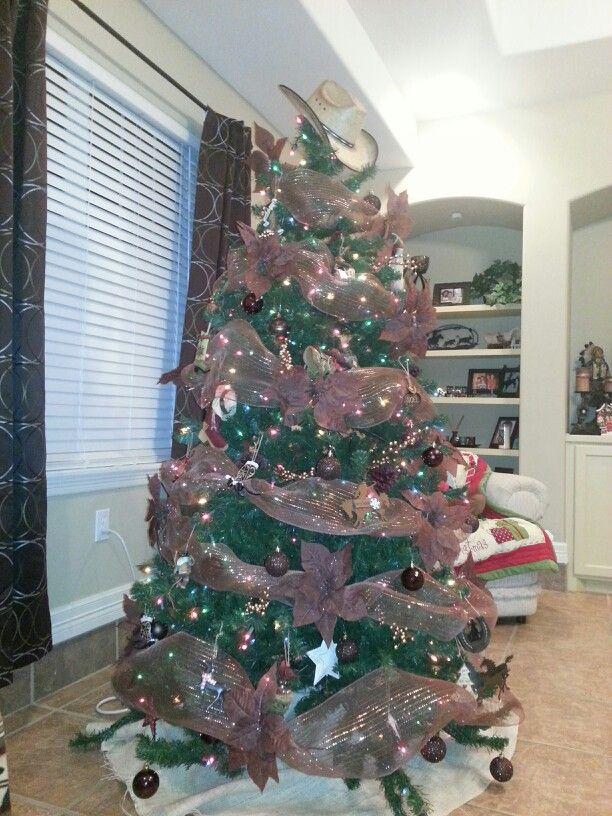 Western Christmas tree CRAFTY Pinterest M4mgirnk