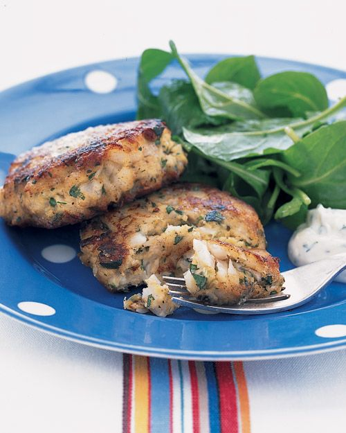 Lemon parsley fish cakes- made these and froze for an easy weeknight ...