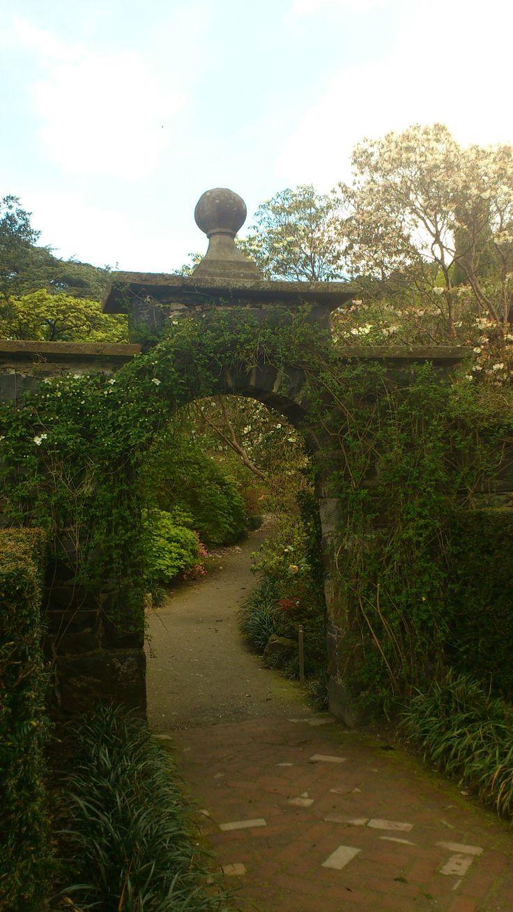 Garden gateway bodnant conwy wales places pinterest for Garden gateway