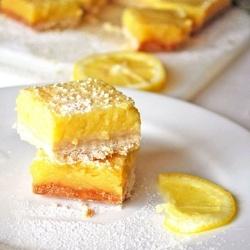 Whole Lemon Bars recipe | Cookies/bars | Pinterest