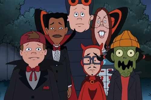 halloween episodes of friends
