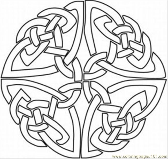 kaleidoscopes coloring pages - photo#46
