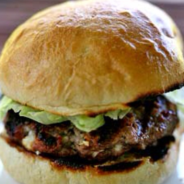 Blue Cheese Burgers | FOOD & LIBATIONS | Pinterest