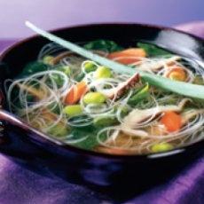 Miso Noodle Soup With Edamame | GF,V | Pinterest
