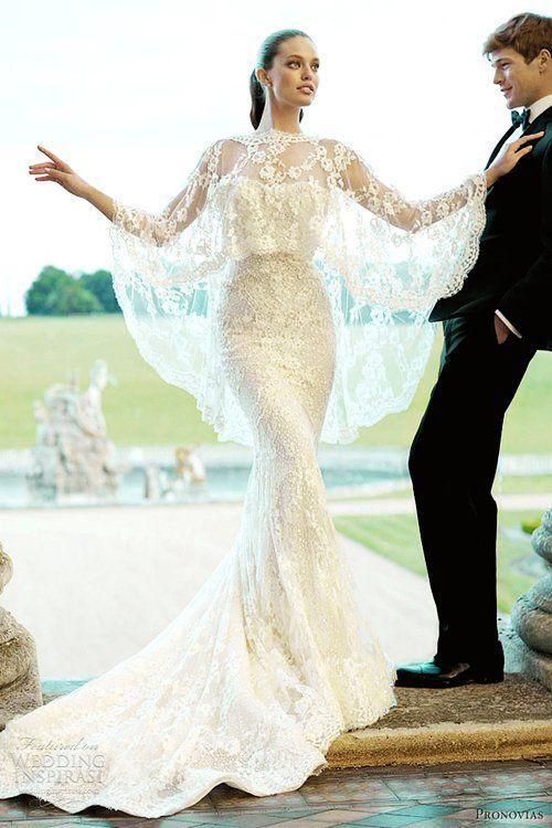Classic hook flower wedding dress
