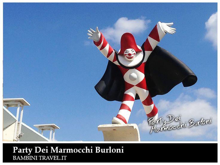 Burlamacco ci da il benvenuto al Carnevale di Viareggio